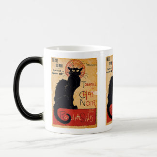 """Soon and the Black Cat Tour by Rodolphe Salis"" Morphing Mug"