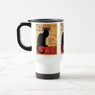 """""""Soon and the Black Cat Tour by Rodolphe Salis"""" Stainless Steel Travel Mug"""