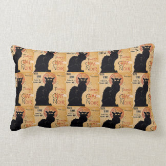 """Soon and the Black Cat Tour by Rodolphe Salis"" Throw Cushion"
