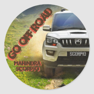 Soon Mahindra Scorpio Sticker