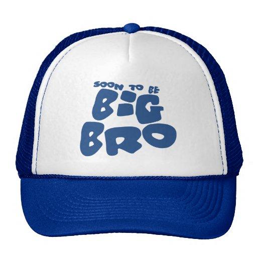 Soon to be big bro trucker hats