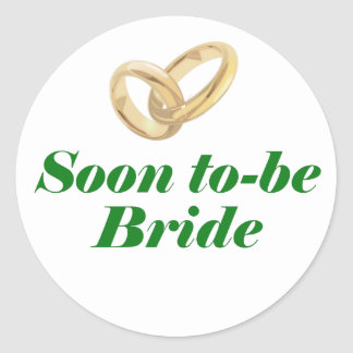 Soon to be Bride Stickers