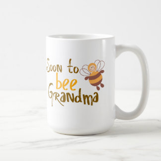 Soon to be Grandma Basic White Mug