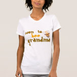 Soon to be Grandma Grandparents day Tees