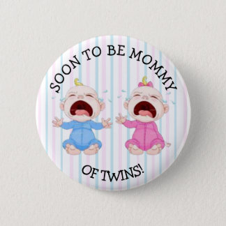 Soon to be Mommy of Twins Button