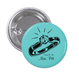 Soon To Be Mrs. Custom Button