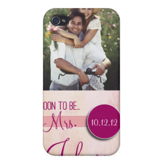 Soon to Be Mrs iphone 4 case