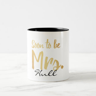 soon to be mrs. mug