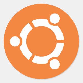 Soon Ubuntu Classic Round Sticker