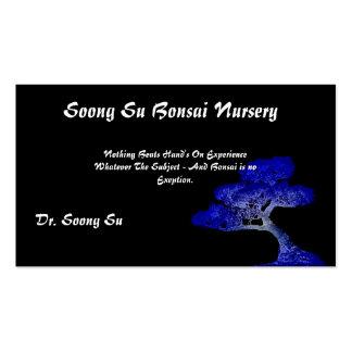 Soong Su -Bonsai- Profile Card Business Card