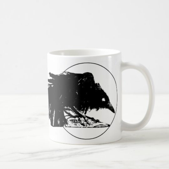 Soot Black Raven Coffee Mug