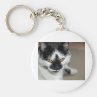 Sooty Basic Round Button Key Ring