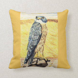 Sooty Falcon Cushion