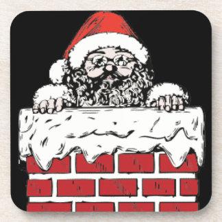 Sooty Santa Coaster Set of 6