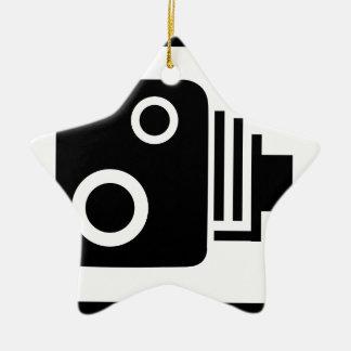 Sopeed Camera Ceramic Star Decoration