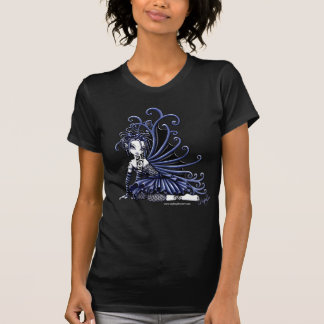 """Sophia"" Blue Tattoo Fairy Art Top"