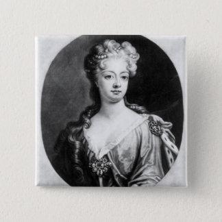 Sophia Dorothea, Queen of Prussia 15 Cm Square Badge