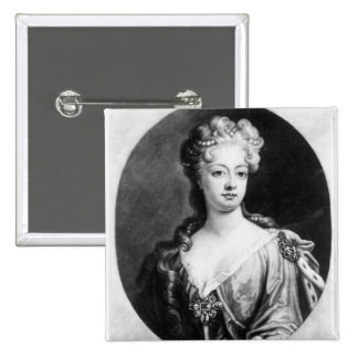 Sophia Dorothea, Queen of Prussia 15 Cm Square Badge