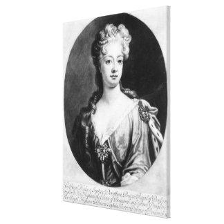 Sophia Dorothea, Queen of Prussia Canvas Print