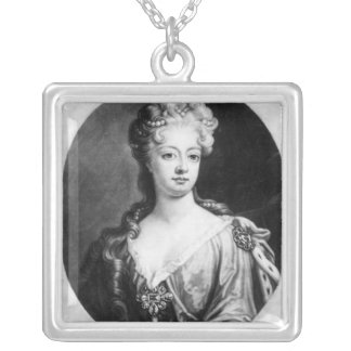 Sophia Dorothea, Queen of Prussia Silver Plated Necklace