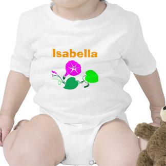 Sophia Emma Isabella Olivia Ava Emily Baby Bodysuits