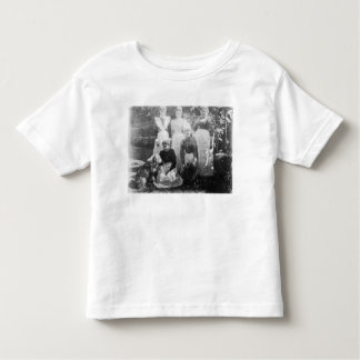 Sophia Farrell and maids, 1899 Shirt