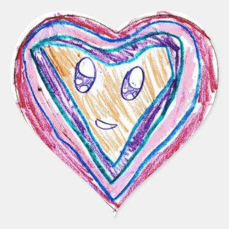 Sophia N. : Heart Sticker