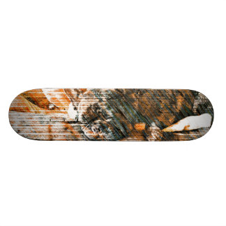 Sophie and Penny the french bulldogs Custom Skateboard