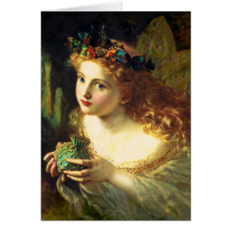 Sophie Anderson Fairy Greeting Card