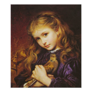 Sophie Anderson The Turtle Dove Poster