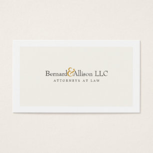 Sophisticated business cards business card printing zazzle uk sophisticated attorney off white business card colourmoves