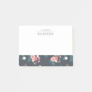 Sophisticated Botanical Personalized Post-its Post-it Notes
