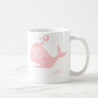 Sophisticated Bounty's Inner Sushi Pink Whale Mug