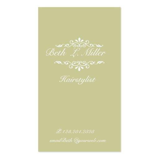 Sophisticated elegant zazzle for Elegant business card template