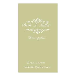 Sophisticated Elegant Pack Of Standard Business Cards