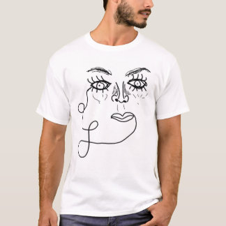 Sophisticated Face T-Shirt