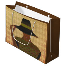 Sophisticated Lady Gift Bags Large Gift Bag