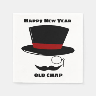 Sophisticated New Year Party Cocktail Napkins Disposable Serviettes
