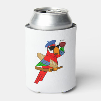 SoPHisticated Parrot Coozie