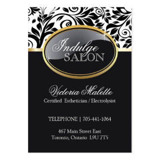 Sophisticated Salon and Spa Appointment Card Pack Of Chubby Business Cards