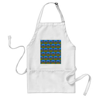 Sophisticated Seamless Pattern Standard Apron