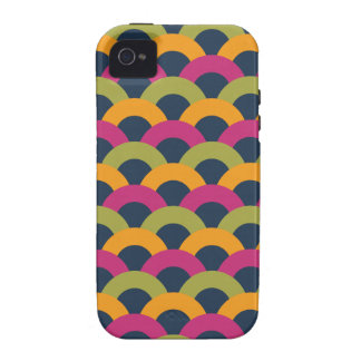 Sophisticated Seamless Pattern Vibe iPhone 4 Covers