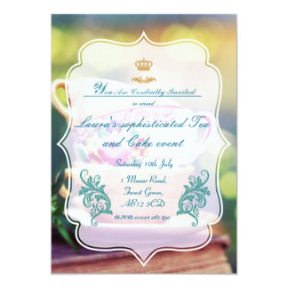 Sophisticated Summer party Card