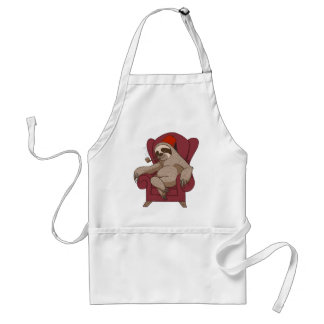 Sophisticated Three Toed Sloth Standard Apron