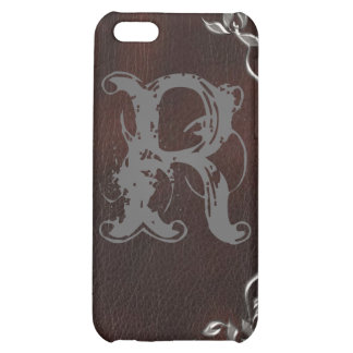 Sophisticated Western Leather Wedding Cover For iPhone 5C
