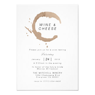 Sophisticated Wine & Cheese | Invite