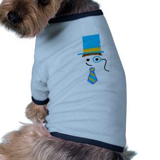 Sophistocated Teacher Dog Tshirt