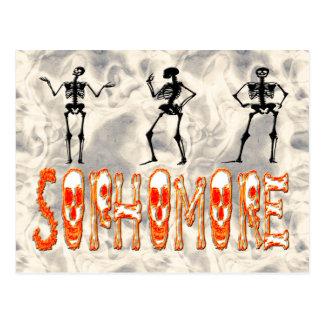 Sophomore - Skeletons Postcard