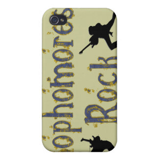 Sophomores Rock - Guitar Players  iPhone 4/4S Cases