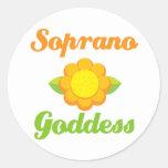 Soprano Goddess Sticker